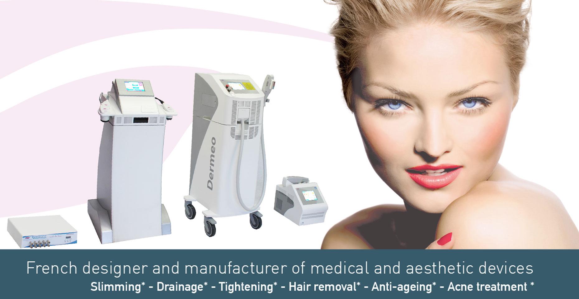 Concepteur et fabricant français de dispositifs médicaux et esthétiques